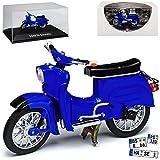 Simson Schwalbe KR51 Blau 1964-1986 DDR 1/24 Ixo Modell Motorrad mit individiuellem...