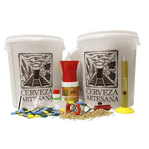 Kit Completo de elaboración 20 litros de Cerveza Artesana calidad Doble Superior