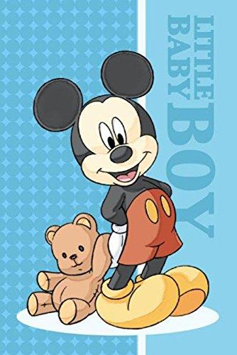 Disney - Asciugamano Mickey Mouse per viso, dimensioni circa 60 x 40 cm