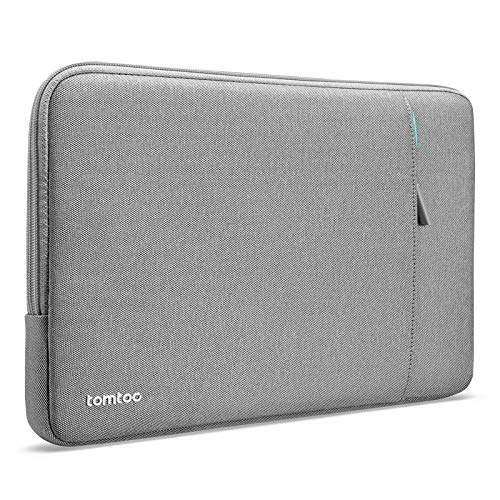 tomtoc Recycled Laptop Sleeve for 15-16 Inch MacBook Pro A2141 A1398, 15 Inch Surface Book 3/2, The New Razer Blade 15, ThinkPad X1 Extreme Gen 2, 360 Protective Ultrabook Notebook Accessory Bag Case