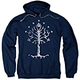 The Lord of The Rings Movie Tree of Gondor Adult Pull-Over Hoodie Blue