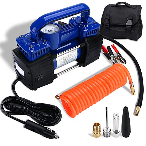 HONGNAL Portable Air Compressor Tire Inflator, 150PSI Car Air Pump...