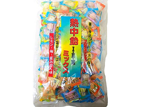 井関食品 熱中飴 1・2・3 ミックス 業務用 塩飴1kg x2袋