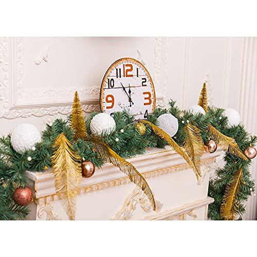 Fondo de fotografía de Vinilo navideño Tema navideño Fiesta Estudio Accesorios de Disparo decoración de Banner A8 10x7ft / 3x2,2 m