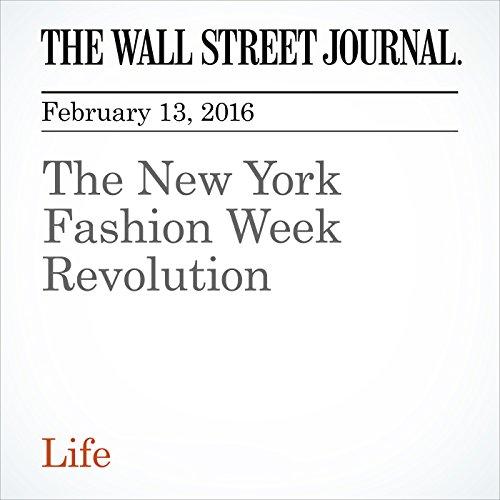 The New York Fashion Week Revolution audiobook cover art