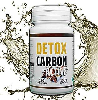 DETOX CARBON ACTIVE   Dimagrante Detox   Brucia Grassi   Per Perdere Peso Velocemente   Eccezionale Per Pancia Piatta Cosc...