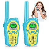 BlueFire Walkie Talkie Bambini, 8 Canali PMR446 2 Way Radio Ricetrasmittenti Display LCD VOX Funzione con Torcia Regalo di Compleanno Giocattoli per Ragazzi Ragazza