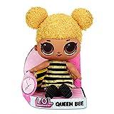 LOL Surprise Queen Bee Huggable, Soft Plush Doll