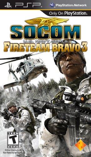 SOCOM: U.S. Navy Seals Fireteam Bravo 3 (PSP)
