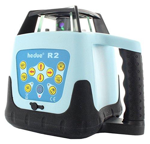 hedue R176 Rotationslaser R2 Klasse 3R (grün) mit Empfänger E2green