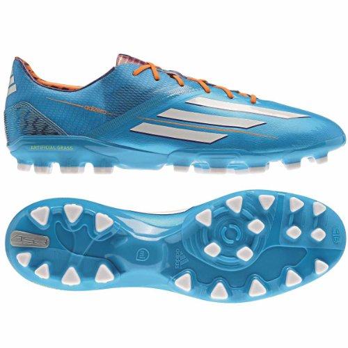 adidas F50adizero trx AG Solar blue f32780, hombre, F50 adizero TRX AG, Blau (Solar Blue/Solar Zest/Running White), 7,5 UK - 41,1/3 UE