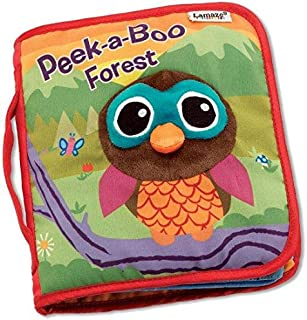 Baby Cloth Book Lamaze Peek-A-Boo Forest Infant Early Development Learning Educational Toy