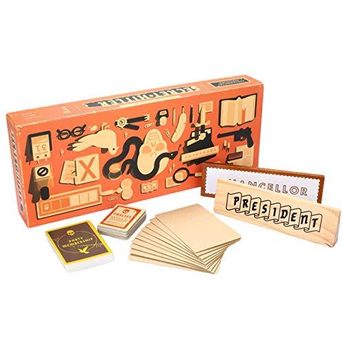 TLLY Aufdeckung von Hitlers Geheimnissen Brettspiel, geheimes Hitler-Spaß-Partyspiel, Partykarten-Schachspielzeug, Klassische, rasante Kartenspiele mit versteckten Identitäten für die Familie