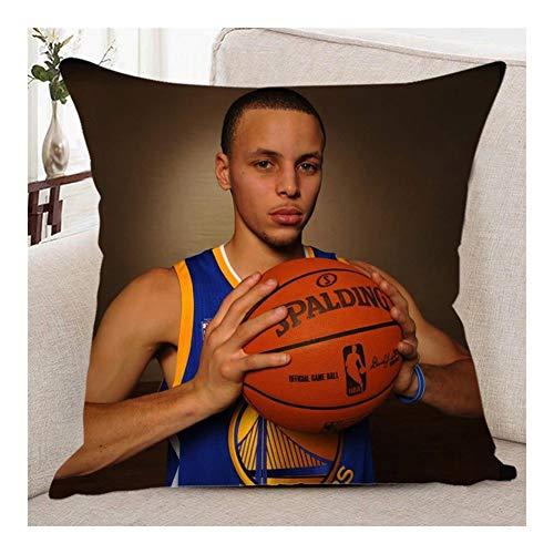 PULLEY-S NBA - Cojín cuadrado para baloncesto, diseño de la NBA 40×40cm b