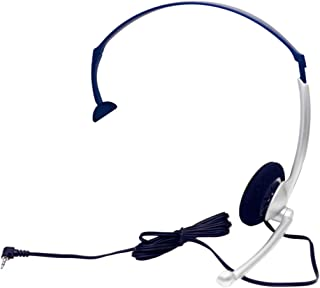 ZULTYS Business Phone (2.5MM JACK) Foldable Headset Microphone