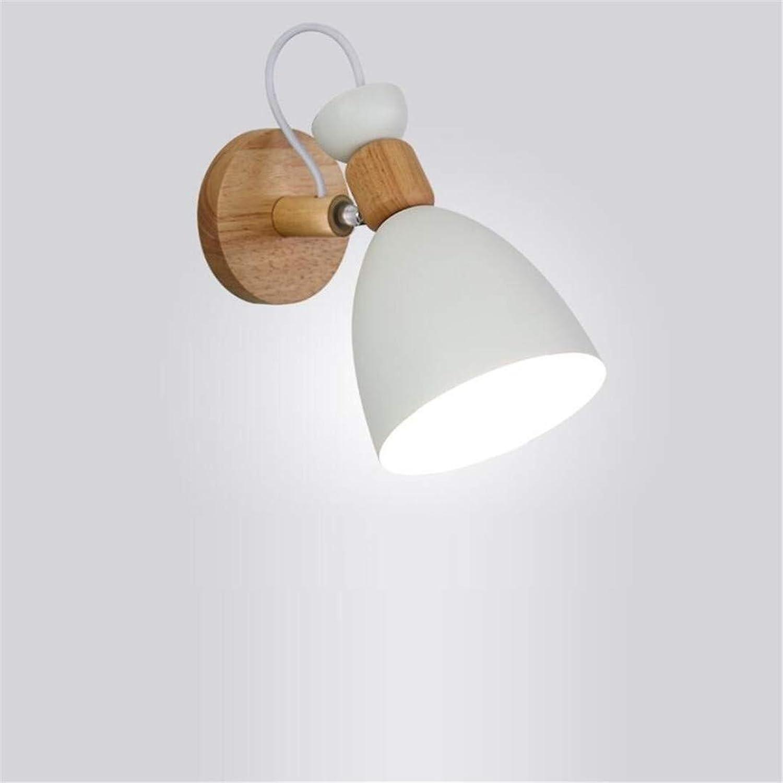 Deckenleuchte Nordic Weie Wandleuchte Schlafzimmer Moderne Minimalistische Kreative Nachttischlampe Massivholz Studie Gang Wandleuchte Persnlichkeit Lampen