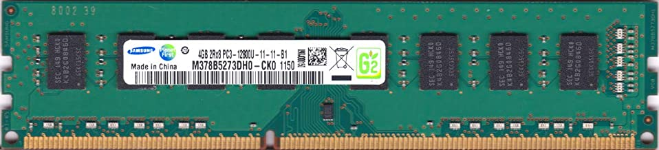 Samsung 4GB PC3-12800 DDR3-1600MHz non-ECC Unbuffered CL11 240-Pin DIMM M378B5273DH0-CK0