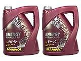 MANNOL Motorenöl 5W-40 Energy Formula PD API SN/SM/CF 2 Stück á 5 Liter