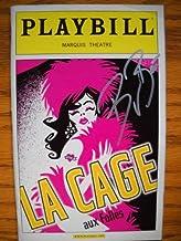 Bryan Batt Singed Brand New Color Cover Playbill from La Cage aux Folles revival starring, Gary Beach Daniel Davis Angela ...
