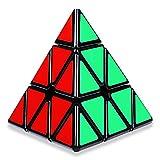 Coolzon Cubo Magico Pyraminx Speed Cube, Magic Cube Piramide Triangular Velocidad Cubo 3D Puzzle Cube Jigsaw Juguetes Educativos Regalos para Niños y Adultos