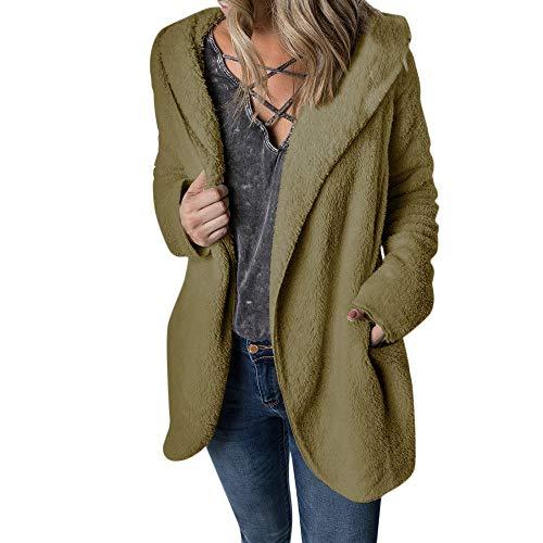 TOPKEAL Jacke Mantel Damen Herbst Winter Sweatshirt Warm Steppjacke Kapuzenjacke Hoodie Pullover Outwear Coats Mode Tops
