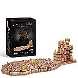 King's Landing - Puzzle 3D (262 piezas), diseño de Juego de Tronos