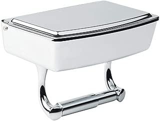 delta porter toilet paper holder with storage