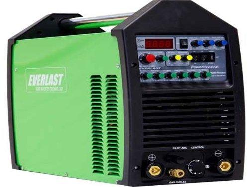 Everlast PowerPro 256 250a TIG Stick Pulse 60a Plasma Cutter Multi Process Welder