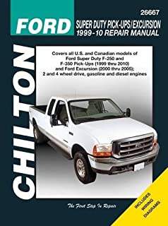 Ford Super Duty Pick-ups & Excursion, 1999-2010 (Chilton's Total Car Care Repair Manual)