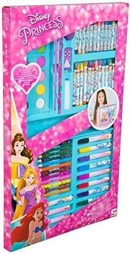 HomeStoreDirect Disney Princess 68 Piece Carry Along Art Case Set
