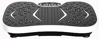 Ultra delgado Plataforma Vibratoria Todo el cuerpo Slim Crazy Fit Masaje 99 niveles Velocidades Música Bluetooth + Superficie enorme + Diseño incomparable + Bandas de resistencia + Control remoto