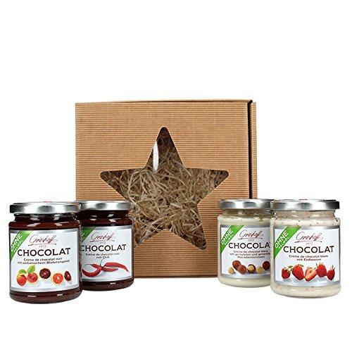 Grashoff | Geschenkboxen verschiedene Sorten Schokolade & Konfitüre | Weihnachtsgeschenk