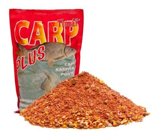 Timar Mix Futter Plus Serie 3kg Feeder Spezial mit Mirco-Pellets Rot Futter Grundfutter Anglfutter Bait Anfutter