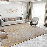 Kunsen Cuadro Decoracion habitacion alfombras recibidor La decoración de la Sala de Estar del Dormitorio con Alfombra Gris es Resistente a Las Manchas alfombras Online 140X200CM 4ft 7.1' X6ft 6.7'