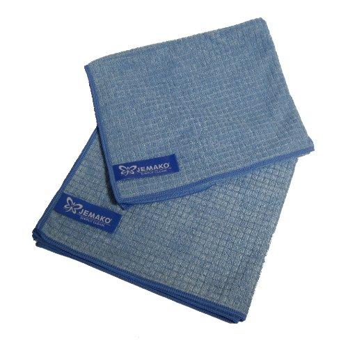 Jemako Profitücher - Doppelpack in blau - Sondergrösse 35 x 40 cm
