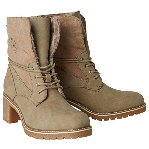 TOM TAILOR Damen 3790901 Desert Boots, Braun (Taupe), 40 EU