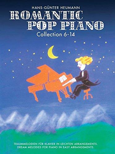 Romantic Pop Piano Collection 6-14 Klavier (leicht) -Für Klavier- (Songbook für Klavier)