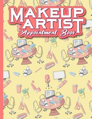Makeup Artist Appointment Book: 7 Columns Appointment Desk Book, Appointment Scheduler, Daily Appointment Scheduler