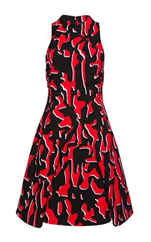 Proenza Schouler Shadow Print Dress (6) Black