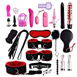 24pc Leather Set Adult Toys for Couples Kit Toys for Men Women