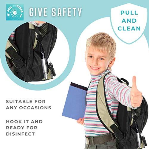 Safer I 2 Disinfettanti per mani I Gel igienizzante antibatterico e antisettico I Spray di liquido idroalcolico I antibatterico e antisettico