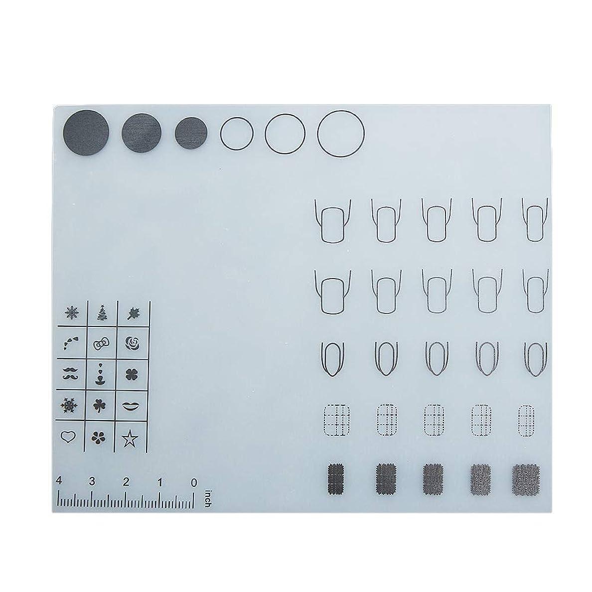 こっそり机性別Decdeal ネイルアートテーブルマット 折り畳み式パッド マニキュアクッション ミニ シリコーン ウォッシャブル ひじかけ マニキュアツール
