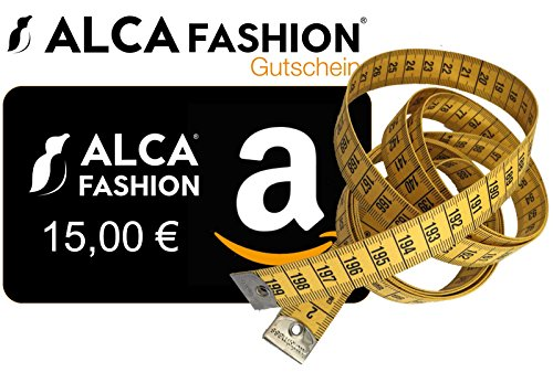 meetlint 2 m/meetlint voor T-shirts XL tot 8XL (incl. Promo voucher 15 Euro korting voor Alca Fashion T-shirt bij Amazon) 2 meter meetlint
