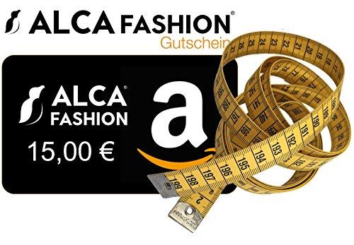 meetlint 2 m/meetlint voor T-shirts XL tot 8XL (incl. Promo voucher 15 Euro korting voor Alca Fashion T-shirt bij Amazon) 2 meter meetlint