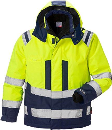 Fristads Kansas 119626 High Viz Airtech Winter Jacket Hi-Vis Yellow/Navy XL