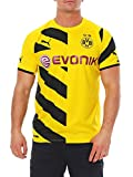 PUMA Herren Trikot BVB Home Replica Shirt, Cyber Yellow-Black, L