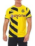 PUMA Herren Trikot BVB Home Replica Shirt, Cyber Yellow-Black, L