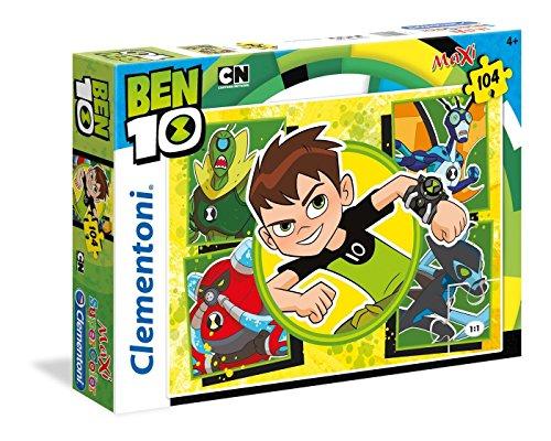 Clementoni 23717Ben 10–Máxima de Puzzle, 104Piezas