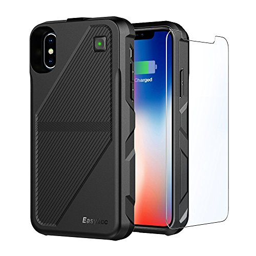 EasyAcc Coque Batterie iPhone X 5000mAh