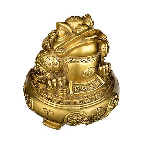 Ornements de corne d'abondance en cuivre pur et émail doré accessoires de maison Wangpu chanceux rassemblant des cadeaux d'affaires et de l'artisanat